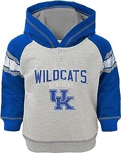 """NCAA 幼儿"""" 经典条纹"""" 法式套头连帽衫 麻灰 3T"""