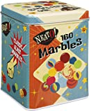 marbles in a tin box, 160-piece