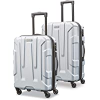 Samsonite 新秀丽 Centric 硬壳可扩展行李箱 带万向轮 银色 2-Piece Set (20/24)
