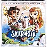 Spin Master Games 6040699 基于圣托里尼策略的棋盘游戏,多色