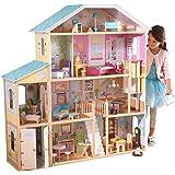 KidKraft 65252 Majestic Mansion Puppenhaus aus Holz mit Zube…