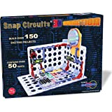 ELENCO Snap Circuits 3D照明电子设备探索套装件  超过150个STEM活动  全彩项目手册  50多个零件  STEM儿童大脑开发玩具,适合8岁以上的人群