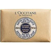 L'Occitane 欧舒丹 乳木果牛奶味护肤香皂 温和植物基底 8.8盎司(250克)