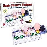 Snap Circuits 初学者电子设备探索套装,适合5-9岁人群的阀杆玩具装备