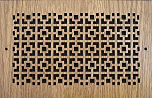 图案切割木格栅:3630.48cm 用于墙壁开口(cm)= 35.56cm x 30.48cm,整体尺寸(cm)= 40.64cm x 34.93cm,图案 A