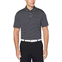 PGA TOUR 男式短袖条纹 Polo 衫