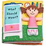 Melissa & Doug 柔软婴儿书 - 我该穿什么?