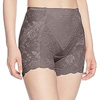 ATSUGI 紧身束腰短裤 修饰臀部 花纹网布标准紧身褡 63511BS 棕色 日本 70-(日本サイズL相当)
