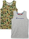 [チャンピオン] 2枚組 クルーネックTシャツ CB3-R701 ボーイズ