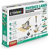 Engino ENG-STEM902 物理定律-惯性,摩擦,圆周运动和节能建筑套件(118件)
