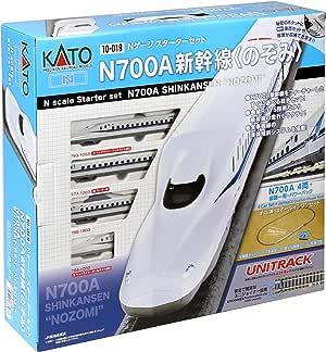 KATO N轨距 Starter Set 铁道模型入门套装 N700A新幹線 のぞみ