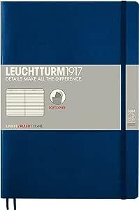 LEUCHTTURM1917精装笔记本(B5) 349300,带内衬,海军蓝