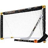 Franklin Sports NHL 球队*及膝曲棍球套装 - 包括 2 个迷你曲棍球棒和一个泡沫迷你曲棍球