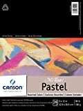 CANSON Mi-Teintes Pad for Pastels, 24 Sheets, 9 by 12-Inch