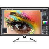 Sceptre IPS 27 英寸 4K 超高清 LED 显示器 *高可达 70Hz DisplayPort HDMI DVI 内置扬声器,无框机器 黑色 2020 (U279W-4000R)