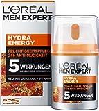 L'Oréal Paris 巴黎欧莱雅 Men Expert Hydra Energy 保湿滋润,*/正常男士皮肤,抗…