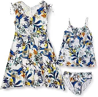 三爱泳装乐园 【无钢圈】 单肩礼服 3件套 泳衣 女士 白色 9