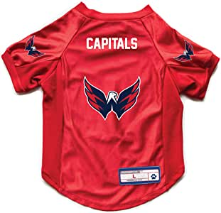 Littlearth NHL Washington Capitals 宠物弹力运动衫,XL 码