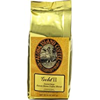Aloha Island Coffee Company Gold II, Luxurious Estate科纳咖啡混合, 8-盎司(226.4克)袋装