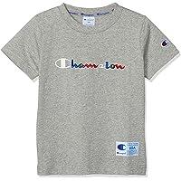 Champion 多功能斜纹商标T恤 AQUOS风格 CS6513 男孩