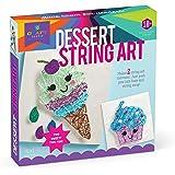 Craft-tastic - 线条艺术套件 - 手工套件 制作 2 幅大型细线艺术油画 - 甜点版