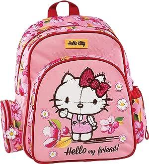 Graffiti Hello Kitty 学生背包,30 厘米 粉红色 粉红色