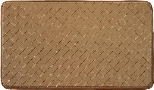Chef Gear Diamond Weave Non-Skid Comfort Mat, 18 by 30-Inch, Tan