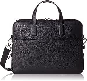 BOSS Crosstown_s Doc 保护套,男式笔记本电脑包,黑色,8.5 x 30 x 38 厘米 (B x H T)
