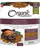 Organic Traditions - 可可粉 - 8盎司