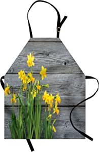 Ambesonne 厨房围裙多色印花