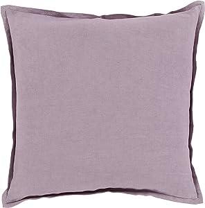 Surya 枕头套装 紫色(Lavender) 18 X 18 X 4 Down filled OR001-1818D