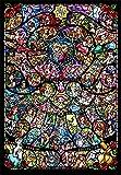 500片 拼图 迪士尼&迪士尼/皮克斯动画片 女主角玻璃 紧密系列 【彩绘艺术】(25x36cm)