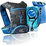 InnerFit Hydration 背包带 1.5 升水囊,耐用驼色背包水壶包,适合跑步、骑自行车、户外活动 - 多功…