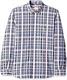 GoodThread标准版型长袖条纹休闲衬衫