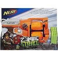 Hasbro 孩之宝 Nerf A9603EU4 - 僵尸来袭(Zombie Strike)FlipFury 玩具枪 玩具爆破枪
