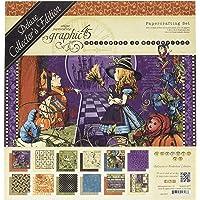 Graphic 45 4501377 万圣节仙境豪华收藏版艺术和工艺品