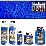 TOUGH-GRID 750 磅跳伞绳/降落伞绳 - 正品 Mil Spec IV 型 750 磅跳伞绳,美国* (MI…