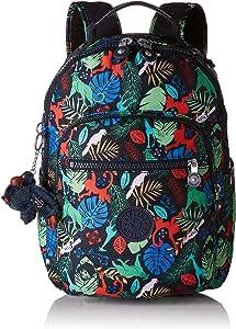 Kipling 凯浦林 Clas Seoul 通用学生书包 双肩包,Multicolour (Bare Necessitie),35 cm