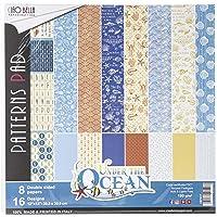 CIAO BELLA PAPER CBT017 纸张,30.5 厘米,海洋,8 种设计/1件,均码