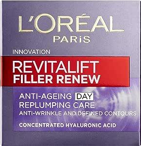 L'oreal Paris 巴黎欧莱雅 Revitalift Filler Renew透明质酸抗衰老日霜50ml