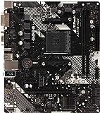 ASRock AMD Ryzen AM4 适用 A320 搭载芯片 MicroATX 主板 A320M-HDV R4.0