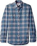 Amazon 品牌 - Goodthreads 男式修身长袖格子人字呢衬衫