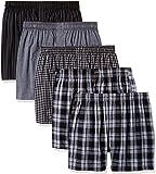 Gildan Platinum 男士针织平角内裤 5 条装