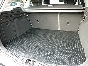 Connected Essentials CEB650 汽车脚垫 2 件套 (2007-2015),黑色带红色饰边,高级脚垫 黑色 5068410