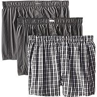 Calvin Klein 男士经典纯棉平角裤3件装