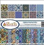 "Ella & Viv Collection Kit 12""X12""-Spice Market"